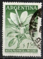 Argentina 1956 - Provincia Di Misiones Erba Matè E Zucca Herb And Gourd - Argentina