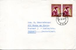 SWA. N°276 De 1964 Sur Enveloppe Ayant Circulé. Jean Calvin. - Theologians