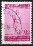 Argentina 1956 - Anniversario Della Rivoluzione Della Liberazione Anniversary Of The Revolution Of Liberation - Argentina