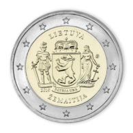 """Lithuania 2 Euro Coin 2019 """"Samagotia"""" UNC - Litouwen"""
