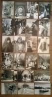 Lot De 22 Cartes Postales / VISAGE PHOTOGRAPHIQUE DU MAROC N&B - Maroc