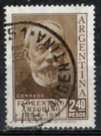 Argentina 1956 - Florentino Ameghino Antropologo Anthropologist - Argentina