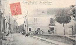 49 PARCAY - Rue De La Mairie  - Animée - France
