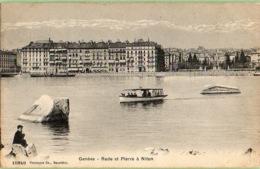 Genève - Rade Et Pierre à Niton - GE Ginevra