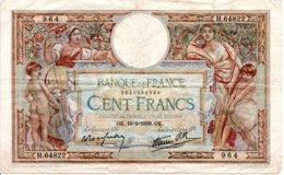 Billet Olivier Merson 1939 De 100 Francs - OK. 16+2+1939.OK - 1871-1952 Antiguos Francos Circulantes En El XX Siglo