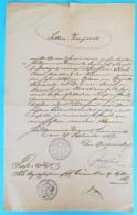 MESTNA OBCINA CRNOMELJ - Old Document 1889. Y ( Slovenia ) * Slowenien Slovenija - Slowenien