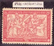 Mozambique  - 1916 Taxa De Guerra / War Tax 5c Neuf Avec Gomme - Mozambique