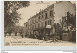 MONTELIMAR : Avenue De La Gare, Hotel Du Parc  ............ Lot 570 .......... 36 - Montelimar