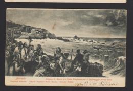 16531 Acireale - Riviera Santa Maria La Scala - Preghiera Per Il Salvataggio D'una Barca F_1 - Acireale