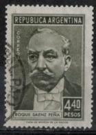 Argentina 1957 - Roque Saenz Pena Avvocato Politico E Presidente Argentina Lawyer Politician And Argentine President - Argentina
