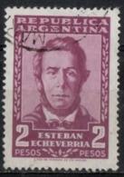 Argentina 1957 - Esteban Echeverria Poeta Poet - Argentina