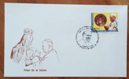 PEROU - FDC 1988 - YT N°875 - EVANGELISATION / JEAN PAUL II - Pérou