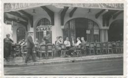 Snapshot Original Le Touquet 30 Aout 1932 Jean Marais Grand Café Du Centre Glace - Célébrités