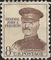 USA 1954 Liberty Issue - 8c General John J Pershing MH - Unused Stamps