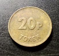 Gaming Machine Token 20 Pence JPM UK - Professionnels/De Société