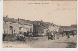 FRANCE/CPA DE MERREY/RUE ST.PIERRE/1915/CACHET LINEAIRE PARC D'ARTILLERIE - Autres Communes