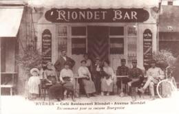 83 /HYERES / CAFE RESTAURANT RIONDET - Hyeres