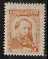 Argentina 1957 - Jose Hernandez Scrittore E Giornalista Writer And Journalist MH * - Altri