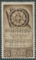 1946 CORPO POLACCO SOCCORSO DI GUERRA 15 CENT MNH ** - UR44-2 - 1946-47 Corpo Polacco Period