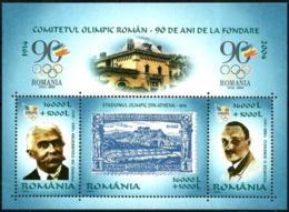 Rumanía HB 274 En Nuevo - Blocks & Sheetlets