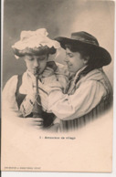 L60A429 - Couple - Amoureux Du Village - Simi Bromure A.Breger Frères N°3 - Couples
