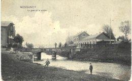 (389) Messancy La Gare Et La Rivière - Messancy