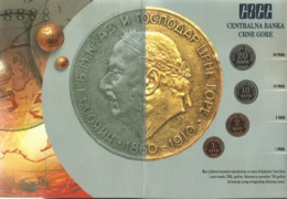 Montenegro 2006. Mint Set Of The Central Bank Of Montenegro - Yugoslavia