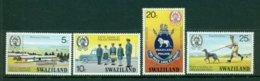 SWAZILAND 1977 Mi 269-72** Fifty Years Of Police Training [A2738] - Police - Gendarmerie