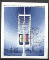 DDR Block 30 O Sonderstempel - DDR
