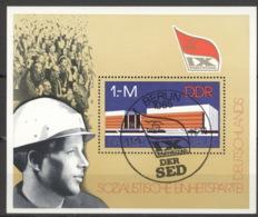 DDR Block 45 O Sonderstempel - DDR