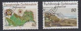 Europa CEPT 1977 Liechtenstein 2v Used (44644A) - 1977