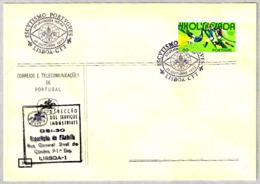 ESCUTISMO PORTUGUES - XV JAMBOREE NO AR - SCOUTS. Lisboa, Portugal, 1972 - Movimiento Scout
