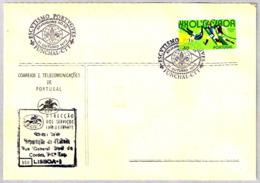 ESCUTISMO PORTUGUES - XV JAMBOREE NO AR - SCOUTS. Funchal, Portugal, 1972 - Movimiento Scout