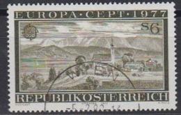 Europa CEPT 1977 Austria 1v Used (44644E) - 1977