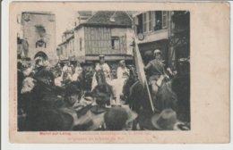 FRANCE / CPA DE MORET SUR LOING / CAVALCADE HISTORIQUE DU 30 AVRIL 1905 - Autres Communes