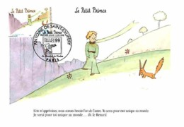YT 3176 - Antoine De Saint-Exupéry, Le Petit Prince - Carte Maximum 1998 - Cartas Máxima