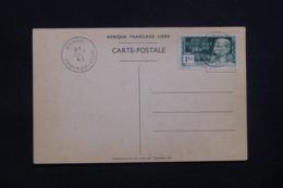 A.E.F. - Affranchissement France Libre De Bangui Sur Carte Postale En 1942 ( Général De Gaulle à Brazzaville ) - L 42321 - Briefe U. Dokumente