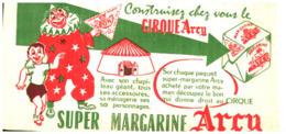 M A/Buvard Margarine Arcy  (Format 21 X 10)   (N= 2) - Produits Laitiers