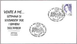 VENID A MI... Solidaridad Con Los Niños De Africa -  Solidarity With The Children Of Africa. Artena, Roma, 2004 - Otros