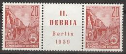 DDR Zusammendruck W Zd22 ** Postfrisch - [6] République Démocratique
