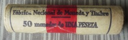 CARTUCHO DE 50 MONEDAS DE 1 PTA. - [ 5] 1949-… : Reino