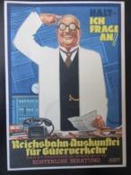 Postkarte Reichsbahn 1938 - Brieven En Documenten