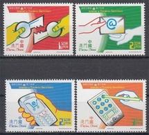 Macau MiNr. 1148/51 ** Elektrische Kommunikationsmittel - 1999-... Sonderverwaltungszone Der China