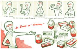 """Pr SW /Buvard Produits Laitiers """"Saint Winoc"""" (Format 21 X 10)   (N= 1) - Produits Laitiers"""