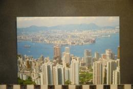 CP, Chine, Hong Kong Vue Generale - Chine (Hong Kong)