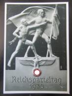 Postkarte Propaganda Reichsparteitag Nürnberg 1938 - Briefe U. Dokumente