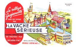 Fr V S/ Buvard Fromage La Vache Sérieuse (N= 10) - Produits Laitiers
