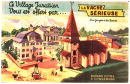 Fr V S/ Buvard Fromage La Vache Sérieuse (N= 11) - Produits Laitiers