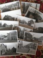 Lot  De 12  Photo's 13 X 8 Cm  (M)   De  Hainaut   (  Voir  Les Scan  ) - Cartes Postales
