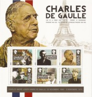 Rep.Burundi  2017 - Charles De Gaulle  2 Sheets / Feuilles - WW2
